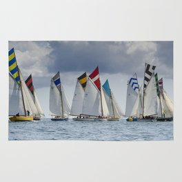 Falmouth Working Boats Rug