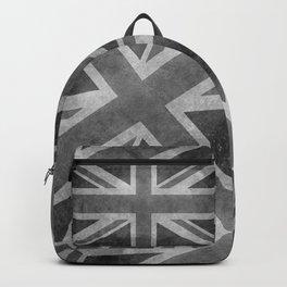 Union Jack Vintage retro style B&W 3:5 Backpack