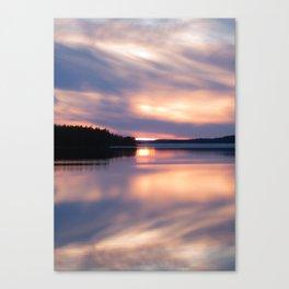 Nordic light Canvas Print