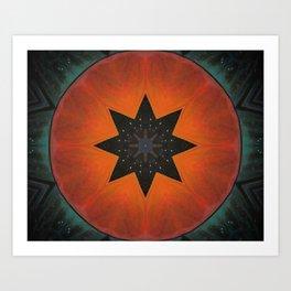 Sol Fire Art Print