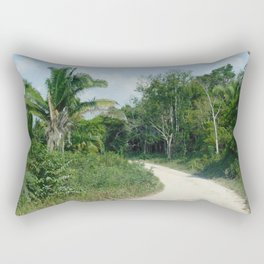 What's Around the Bend? Rectangular Pillow