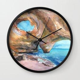 Benagil Cave, Portugal Wall Clock