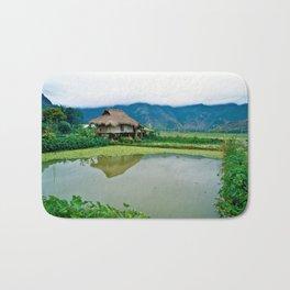 Mountain Village in Vietnam Bath Mat