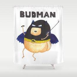 The Budman Shower Curtain
