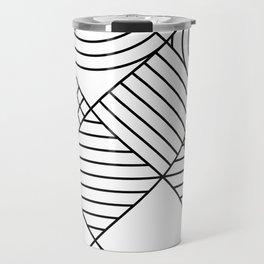 Whackadoodle White and black Travel Mug