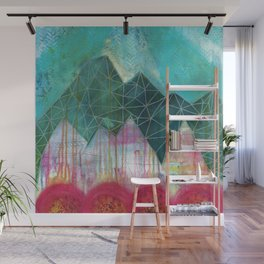 Mountain Winter Solstice Wall Mural
