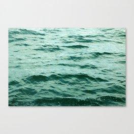 Aqua Ocean Canvas Print