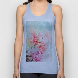 The Passion of Peonies Unisex Tank Top