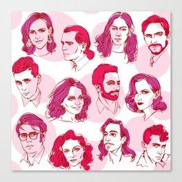 Contemporary Fashion Designers Canvas Print
