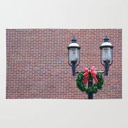 Christmas Post Rug