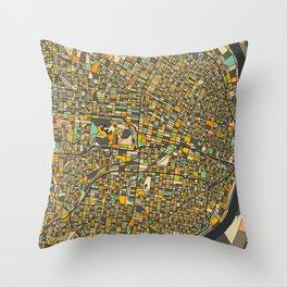 St. Louis Map Throw Pillow