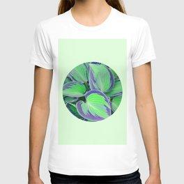 Botanic and circle III T-shirt