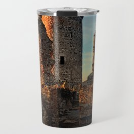 The ruins of Waxenberg castle | architectural photography Travel Mug