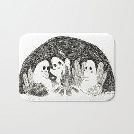 Marshmallows Ghosts Bath Mat