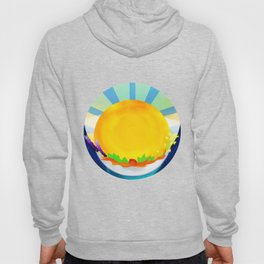 Wheel Series : Summer Solstice Medallion Hoody