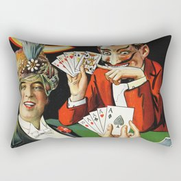 Carter The Great Magician Poster Rectangular Pillow
