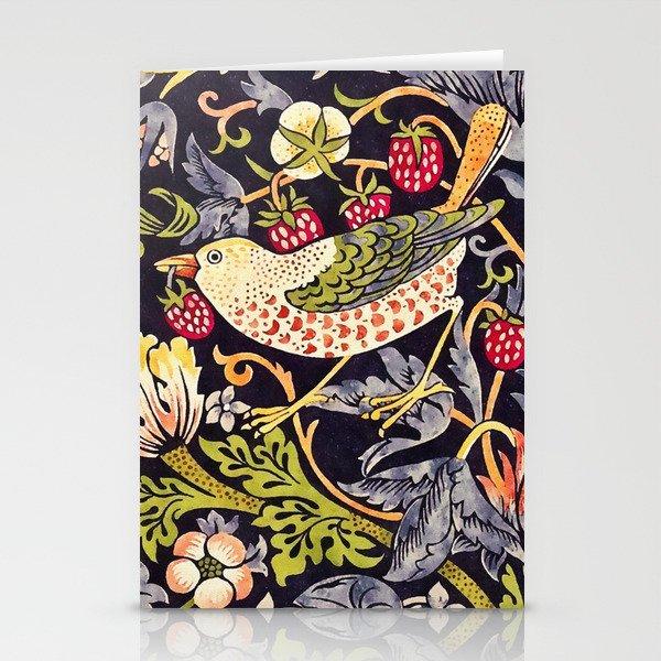 William Morris Strawberry Thief Art Nouveau Painting Stationery