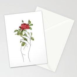 Flower in the Hand Stationery Cards