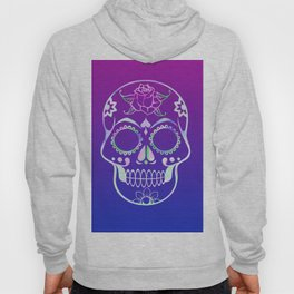 Love Skull (violette gradient) Hoody