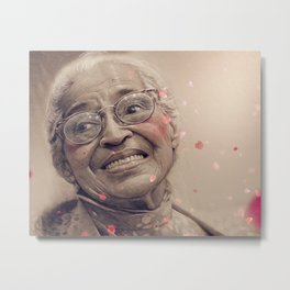 Rosa Parks Metal Print