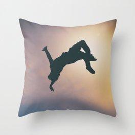 Catching Air Throw Pillow
