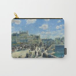 Pont Neuf Paris Painting by Auguste Renoir Carry-All Pouch