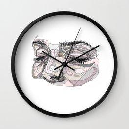 I'm waiting Wall Clock