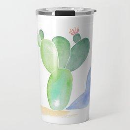 Cactus Shadow Travel Mug