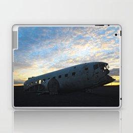 Flugvélaflak DC3 Plane wrek Laptop & iPad Skin