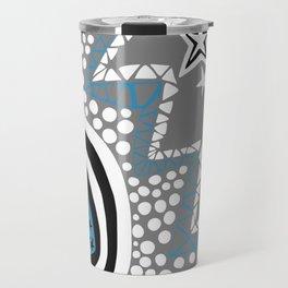 Soul Of The Dream Desert - Star Gazer (Blue and Grey Edition) Travel Mug