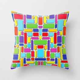 Giochi di colore Throw Pillow