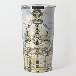 Frauenkirche, Dresden Germany Travel Mug