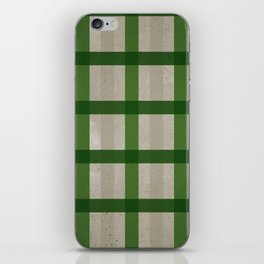 Evergreen Cozy Cabin Plaid iPhone Skin