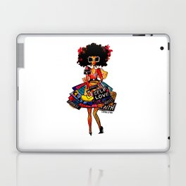 I Carry Nothing But My Self Worth Laptop & iPad Skin