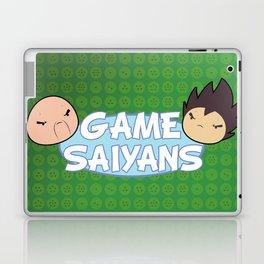 Two Saiyans Play (Game Grumps Style)  Laptop & iPad Skin
