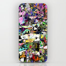 Chaos In Color iPhone Skin