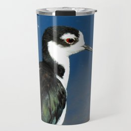 Juvenile Black Necked Stilt Travel Mug