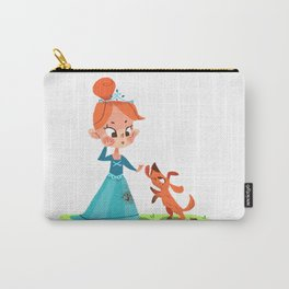 Princess and the mucky Pooch Carry-All Pouch