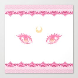 Sailor Chibi Moon Eyes Canvas Print