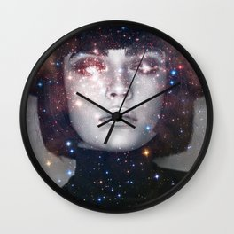 Shes a witch girl Wall Clock