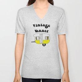 Vintage vanner Unisex V-Neck