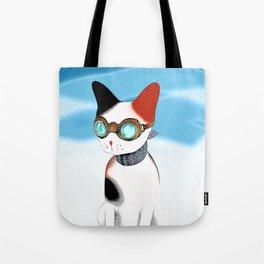 Winter LOLCat Tote Bag