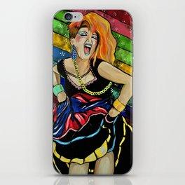 True Colors- Cyndi Lauper  iPhone Skin