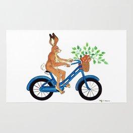 Hansel the Hare Biking Rug