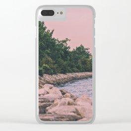Maze Clear iPhone Case