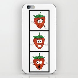 The Many Faces of Daryll Strawberry - An Emotional Strawberry iPhone Skin