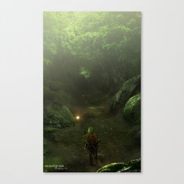 I'll wait for you here Canvas Print