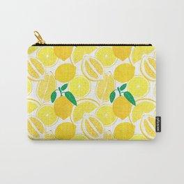 Lemon Harvest Carry-All Pouch