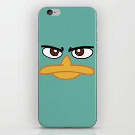 Perry the Platypus iPhone Skin
