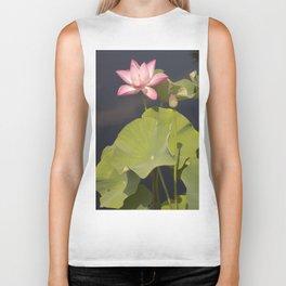 Lotus Flower by Teresa Thompson Biker Tank